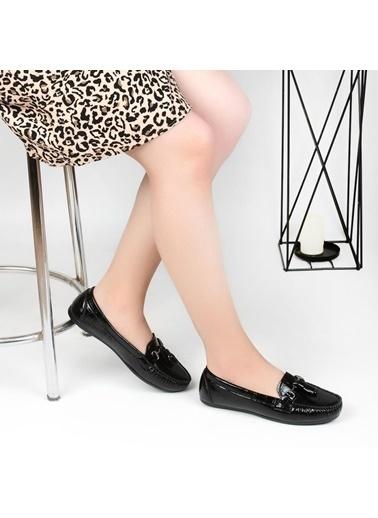 Pandora Ss910 Günlük Bayan Babet Ayakkabı Bordo